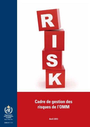 Cadre de gestion des risques de l'OMM - E-Library - WMO