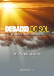 Debaixo do sol - Lagoinha.com