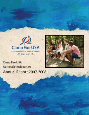 Camp Fire USA Programs Have Impact