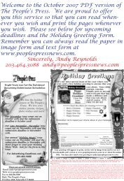 Download the October 2007 issue PDF to your - The Peoples Press