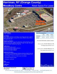 Woodbury Centre - Royal Properties, Inc.