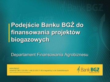 system finansowania biogazowni (T.Hodun, BGÅ»)