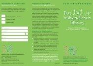 Flyer (pdf zum Download) - Bündnis für Kinder und Familien in ...
