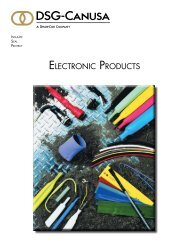 ELECTRONIC PRODUCTS - DSG-Canusa