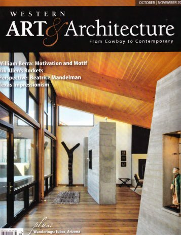 Western Art + Architecture Click here to read more... - Warren Sheets ...