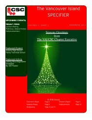 CSC Newsletter December Issue.pub - Vancouver Island ...