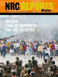 BhuTaN: LaNd Of haPPiNESS fOR ThE SELECTEd ›› 2 - Norwegian ...