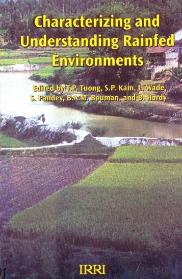 Contents & Foreword, Characterizing And ... - IRRI books