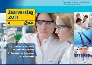 NVML-jaarverslag 2011 - Nederlandse Vereniging van bioMedisch ...