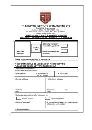 Application form for Distance - Learning/Overseas Centres LL.M ...