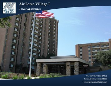 High-Rise Floor Plans - Air Force Village