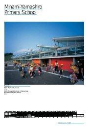 Minami Yamashiro Primary School (PDF, 126 KB)