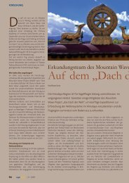 Magazin Segelfliegen 2/2011 - Mountain-Wave-Project.com