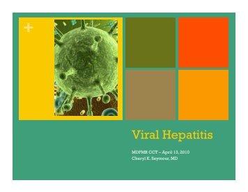 Viral Hepatitis - Mdfpcases.org