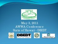 Green Business Program - the American Water Works Association ...