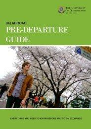 PRE-DEPARTURE GUIDE - University of Queensland