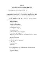 Modelo de Monografia - Faculdade de Engenharia - Unesp
