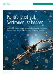 Kontrolle ist gut, Vertrauen ist besser - FACTS Verlag GmbH