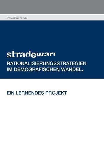 Aktueller Flyer des Projekts - stradewari.de