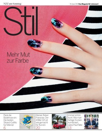 NZZ Stil - Turquoise Istanbul