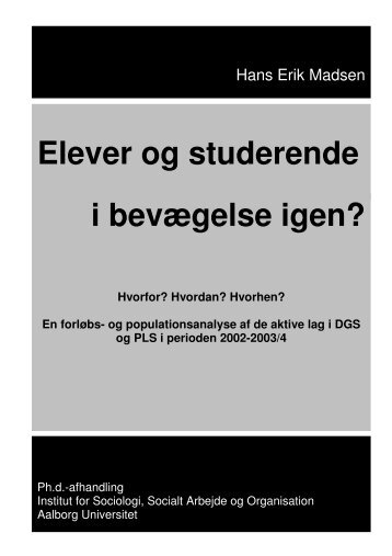 Download afhandling her - Institut for Sociologi og Socialt Arbejde ...