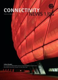 CONNECTIVITY NEWS 1/06 In dieser Ausgabe - Composites