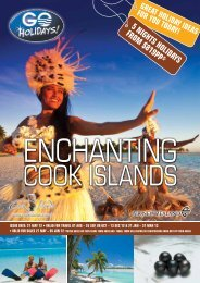Enchanting Cook Islands - Searle Travel
