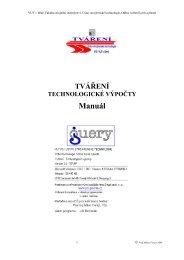 manuál - PDF (Forejt - 0,5 MB) - VUT UST