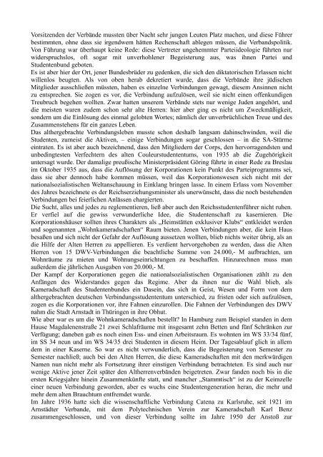 Geschichte des Deutschen Wissenschafter-Verbandes