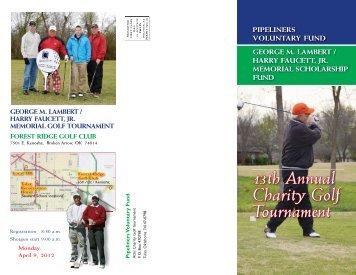 13th Annual Charity Golf Tournament - Local 798