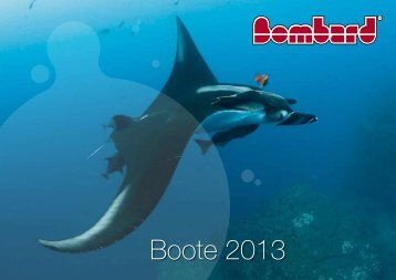Bombard Boote 2013 - Schlauchboote