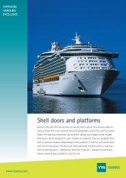 Shell doors and platforms MARINE - TTS Group ASA