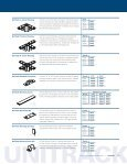 UNITRACK HOUSING • SPECIFICATIONS - Lighting Services Inc - Page 4