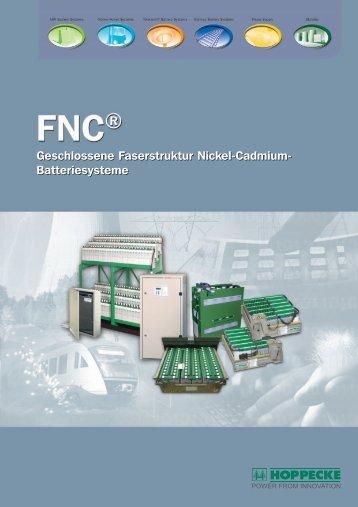 Geschlossene Faserstruktur Nickel-Cadmium- Batteriesysteme ...