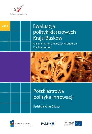 Ewaluacja polityki klastrowej Kraju Basków - Polska Agencja ...