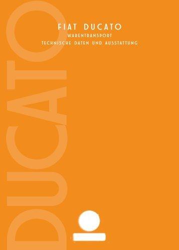 Fiat Ducato Technische Daten - Transporter + Service