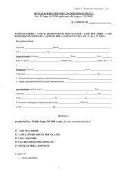 Download modulo segnalazione certificata di inizio attività (SCIA)