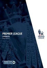 Premier League Handbook - 2010/11 - Premierleague.com