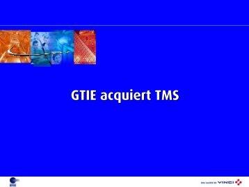 GTIE acquiert TMS - Vinci