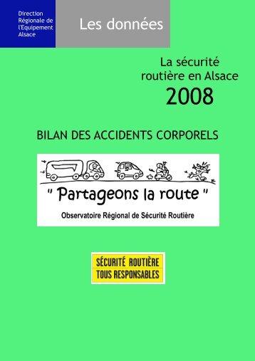 Télécharger le Bilan 2008 (PDF) - La Sécurité routière en Alsace