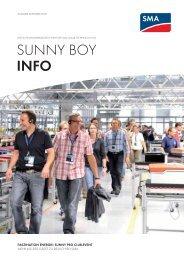 Sunny Boy Info - SMA Solar Technology AG
