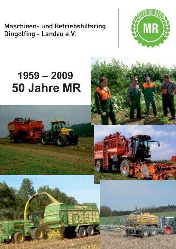 50 Jahre MR - Maschinenring Dingolfing - Landau eV