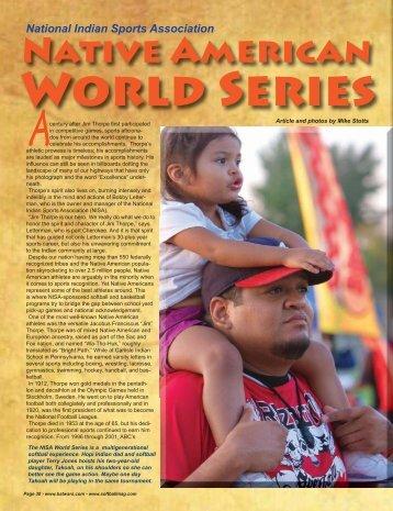 Native American - Softball Magazine