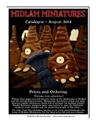 Catalogue - August 2012 Prices and Ordering - Mega Miniatures