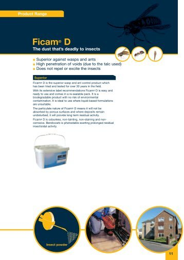 See full brochure (pdf) for Ficam® D - Bayer Pestcontrol Expert