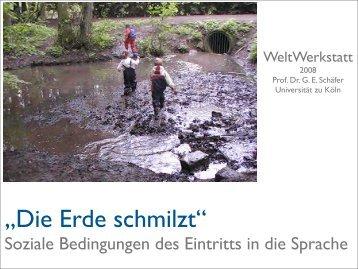 Die Erde schmilzt - Universität zu Köln