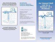 GE 74 Wells - Michigan Water Stewardship Program