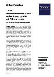 (pdf 51 kb) Erschienen in - Golf de Andratx