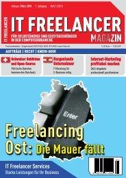 IT Freelancer Magazin Nr. 1/2010