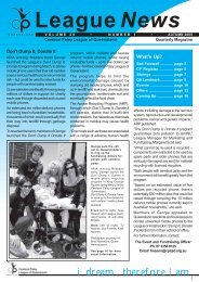 LeagueNews - Cerebral Palsy League
